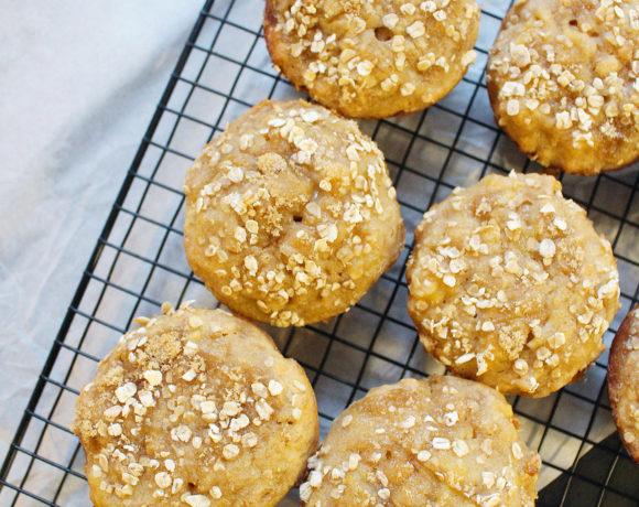 Banana Oat Muffins – #graniacsIADK