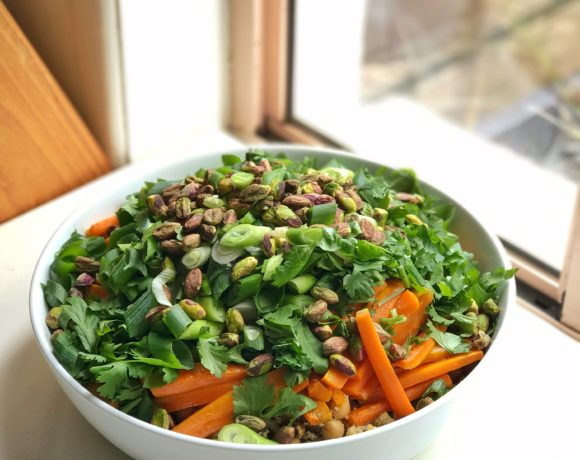 Moroccan Carrot and Quinoa Salad